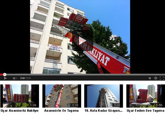 Asansörle Taşıma Videolarımız